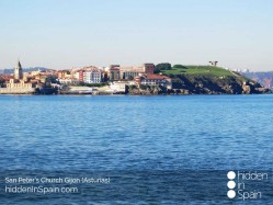 San-Peters-church-and-Eulogy-of-the-horizon-Gijon-2