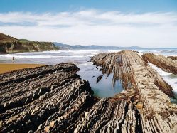 The Flysch route of the northern coast in Spain