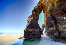 Beach of the Cathedrals in Galicia best beach