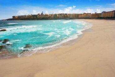 Trip Riazor beach Galicia